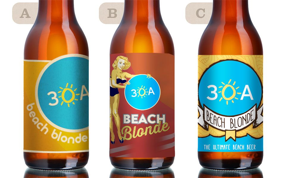30A South Walton 30A Beach Blonde Labels 960 New 30A Beach Blonde Beer on Tap for Fall