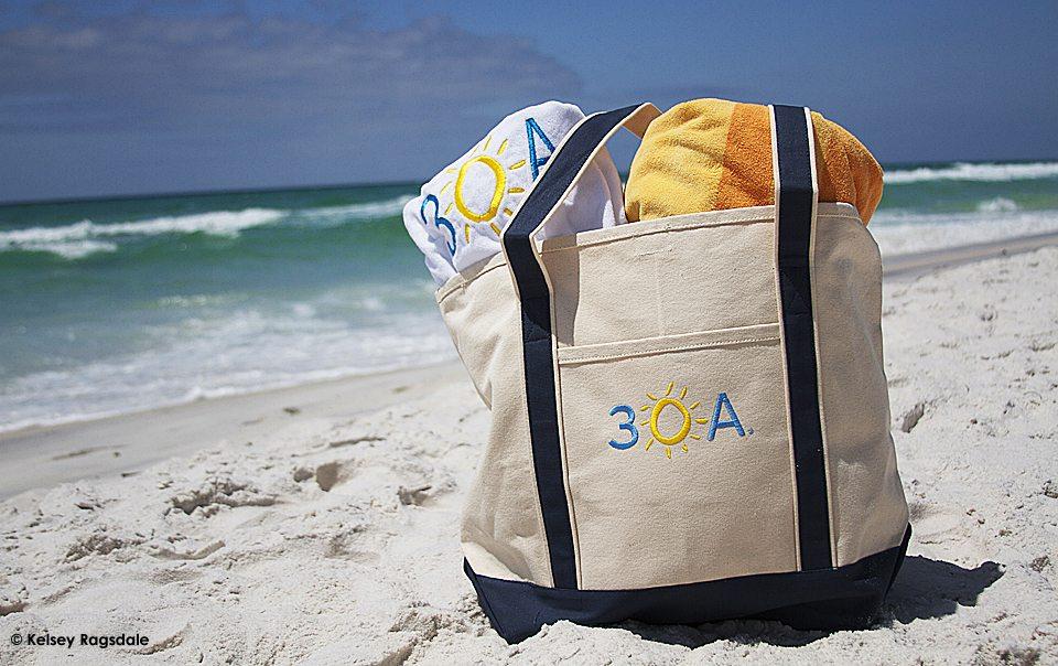 30A beach Tote Bag