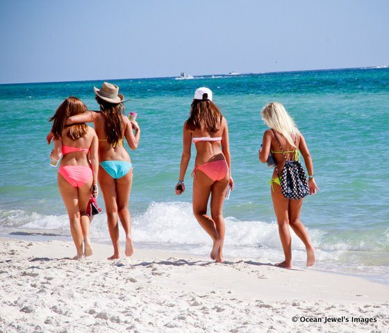 30A South Walton Girls beach bikinis Miramar Beach