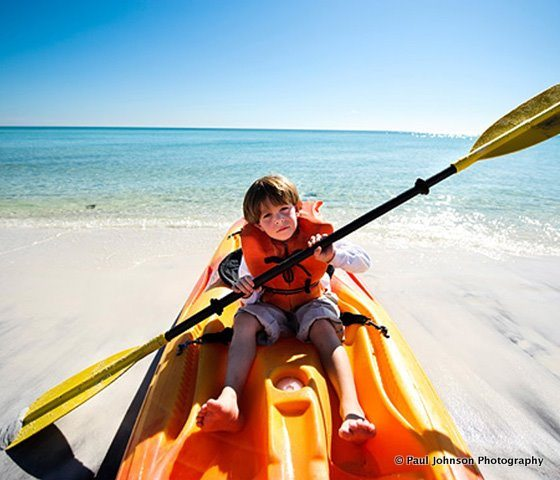 South Walton Kids Kayak Outdoors