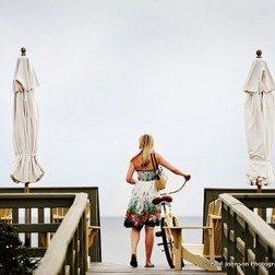 Biking in Rosemary Beach