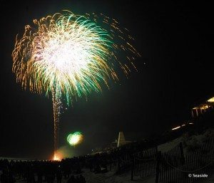 30A South Walton Seaside Fireworks New Years Eve 300x257 Countdown Seaside: A New Year's Eve Celebration