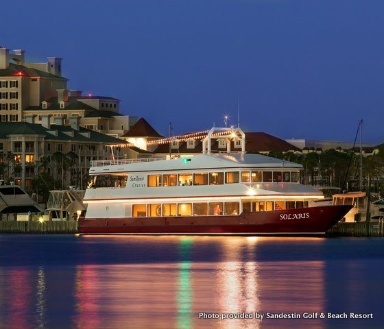 30A South Walton WaterSports SolarisSparkle Autumn Harvest Wine & Dinner Cruise