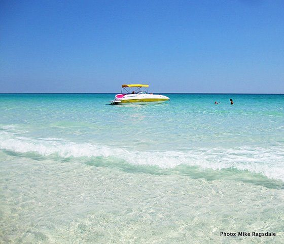 30A South Walton boat water shell Boating