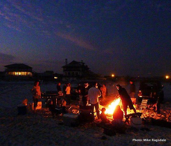 Grayton Beach Bonfire