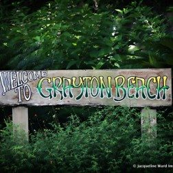 Welcome to Grayton Beach Sign