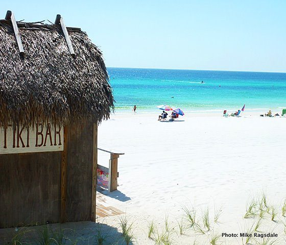 30A South Walton miramar beach tiki bar Seascape