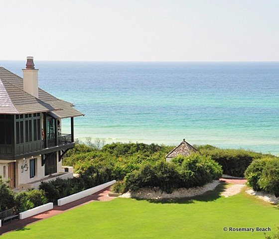 30A South Walton rosemary gulf lawn2 Rosemary Beach