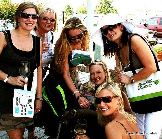 Seeing Red Wine Festival in Seaside FL