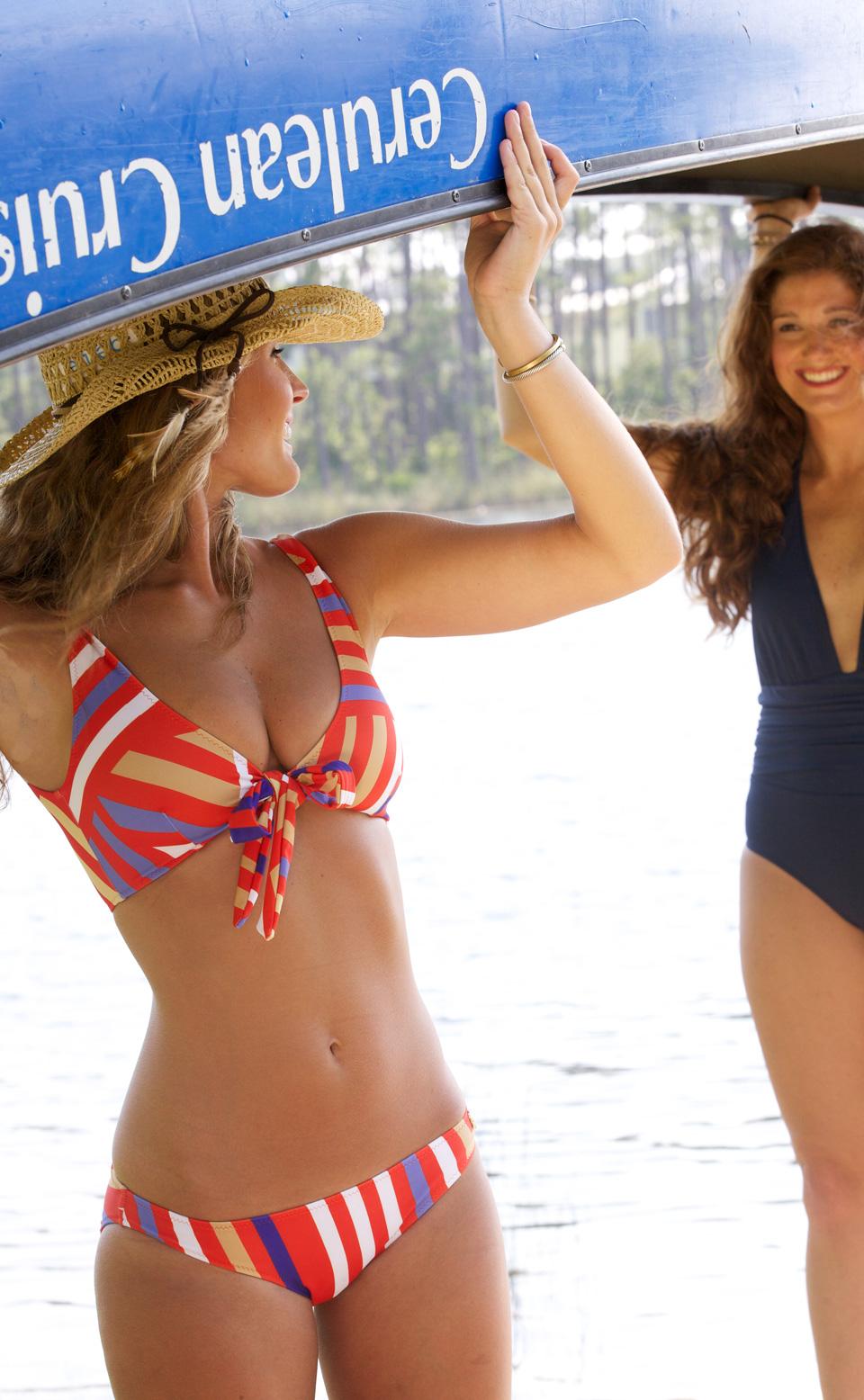 Ophelia Swimwear -- Canoe