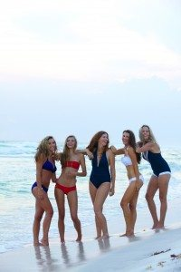 Ophelia Swimwear -- Group Pose