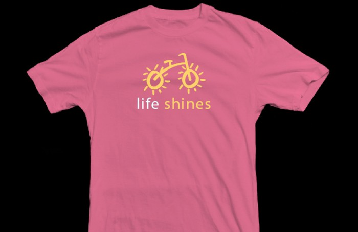 Life Shines Bike T-Shirt for Kids