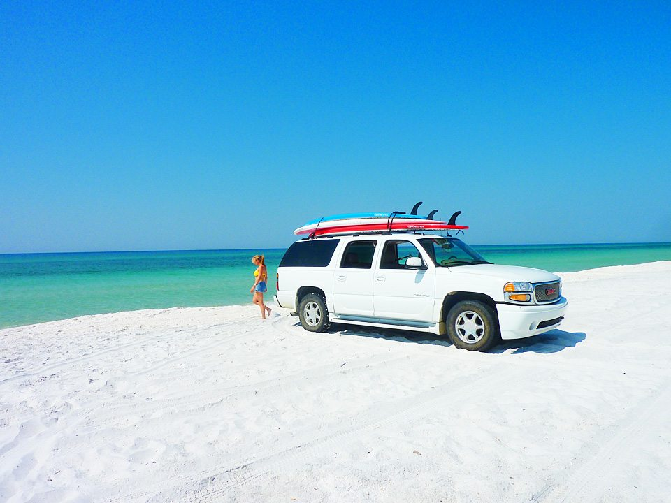 YOLO Truck on Grayton Beach