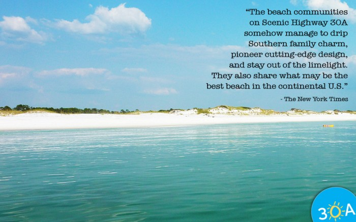 New York Times Quote about Scenic Highway 30A