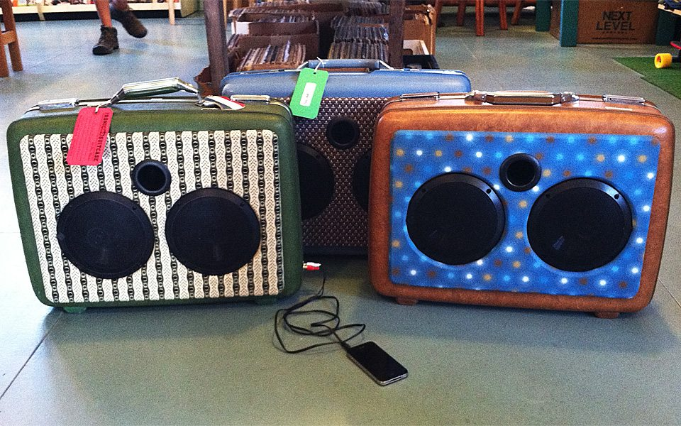 Sonic Suitcases at Central Square Records in Seaside