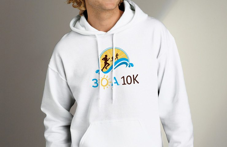 30A South Walton 30A 10K Hoodie 740x480 Nearly 2,000 People Run the 2nd Annual 30A 10K