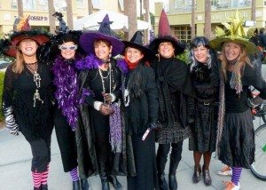 30A South Walton Witches at Gulf Place 2011 300x214 The Witches of South Walton Ride Again!