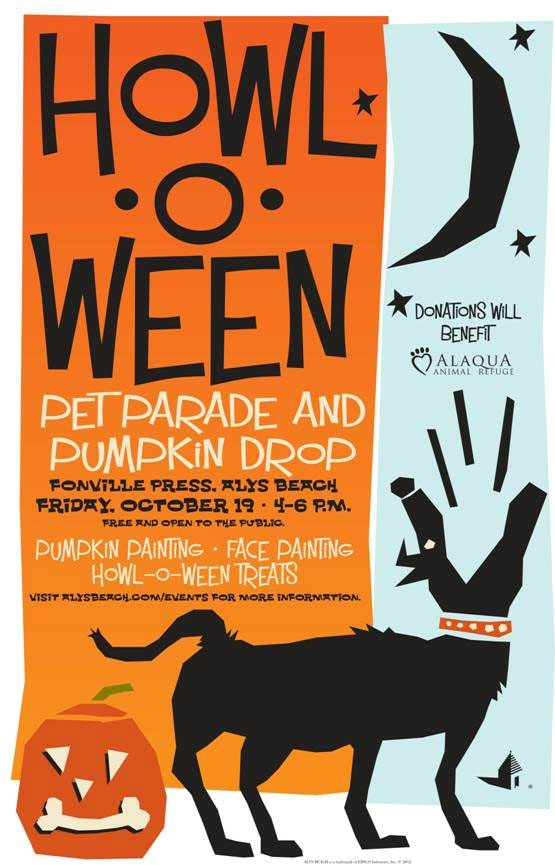 howl-o-ween pet parade at alys beach