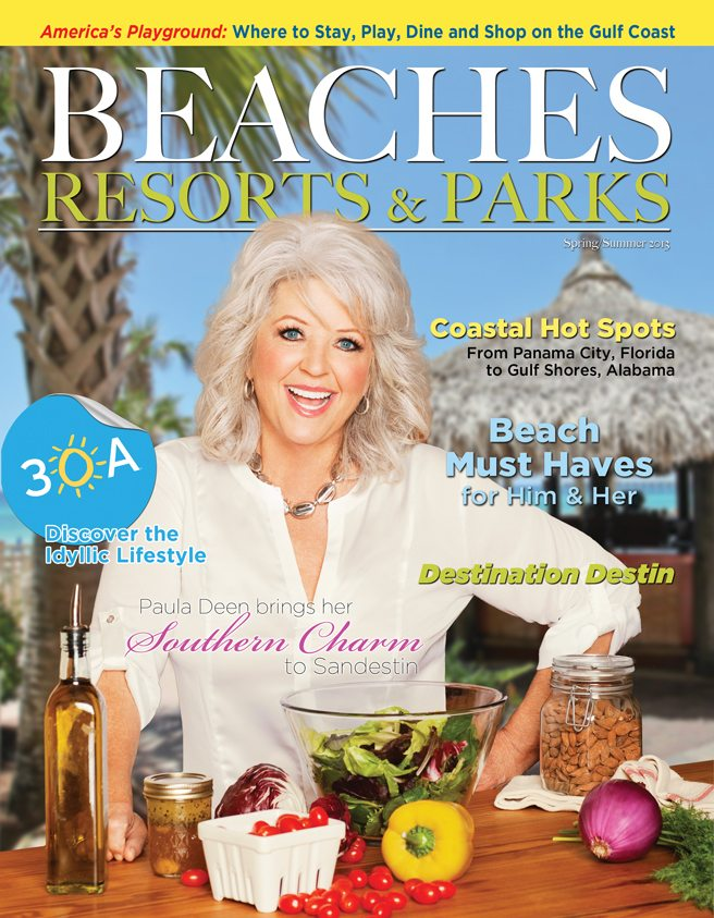 30A South Walton BRP spring 13 cover 30A Featured on Cover of Beaches, Resorts & Parks Magazine