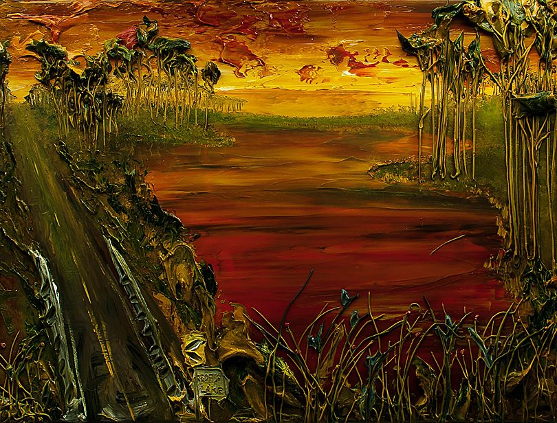 30A South Walton Gaffrey 810 Win This Stunning Redfish Lake Original Painting by JUSTIN GAFFREY    Valued at $3,500!