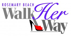 "30A South Walton Walk logo 2 300x152 ""Walk Her Way"" Struts Back to Rosemary Beach"