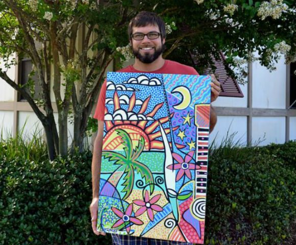 30A South Walton AndyS Poster Winner 580 480 Walton County TDC Seeks Applicants for 2015s Artist of the Year