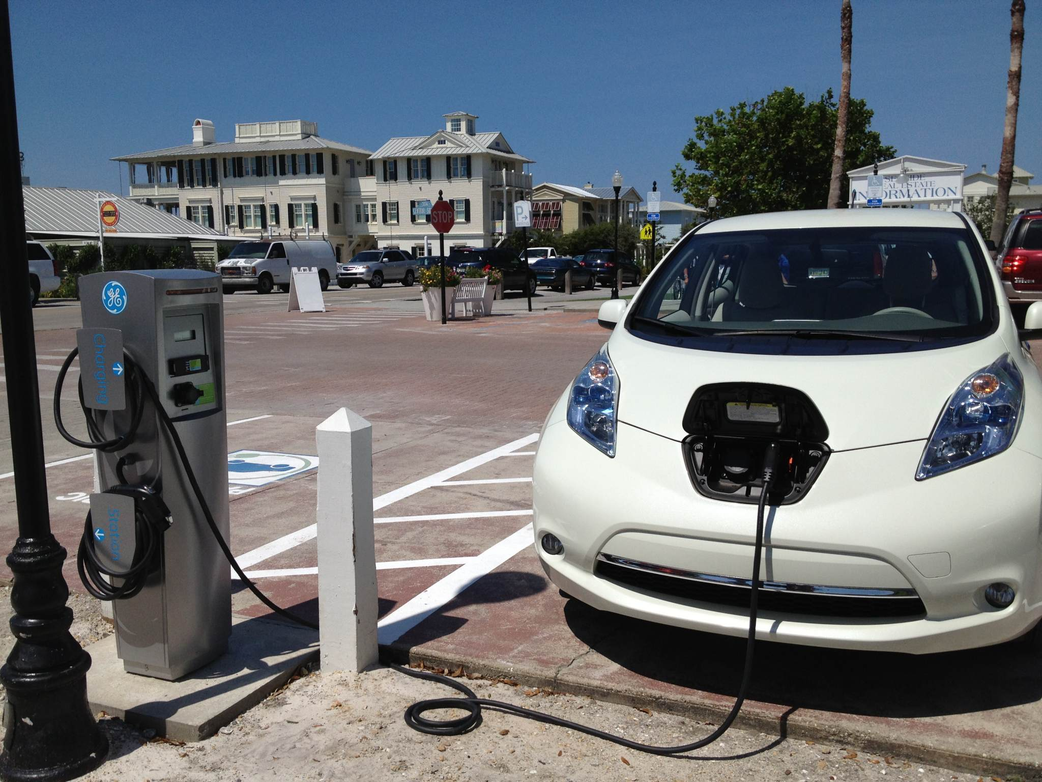 Electric Vehicle Charger In Seaside