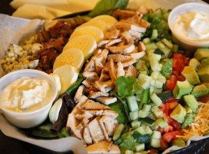 30A South Walton cobb salad chanticleer bakery 30aeats aouthwalton 300x221 Chanticleer Bakery & Eatery: A Family Affair