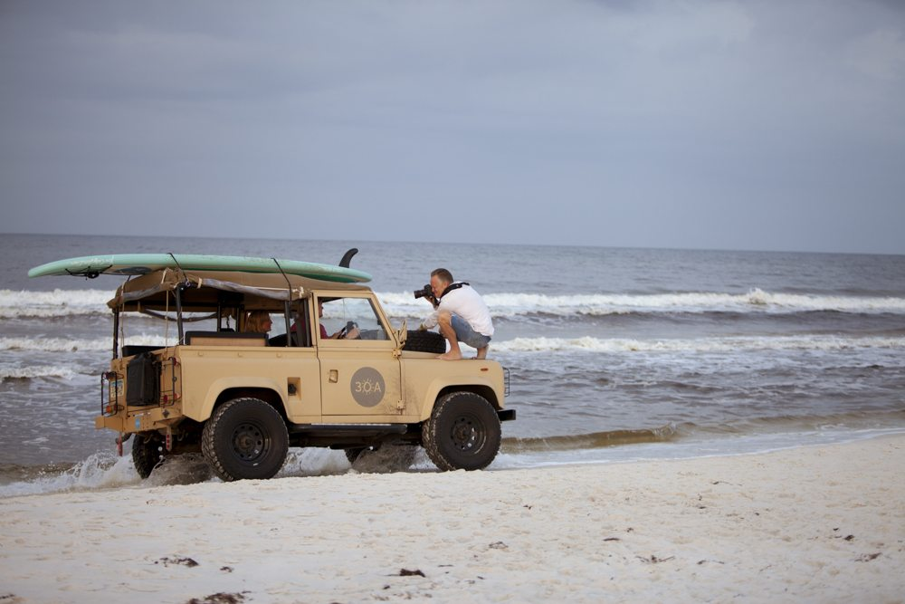 30A South Walton 30a 0267 Photographer Sean Murphy Takes Aim at Truman    30As Classic Land Rover Defender