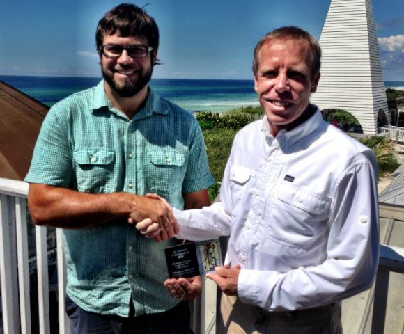 30A South Walton FPRA Andy Saczynski Dave Rauschkolb Bud & Alleys Rauschkolb Named Community Person of the Year