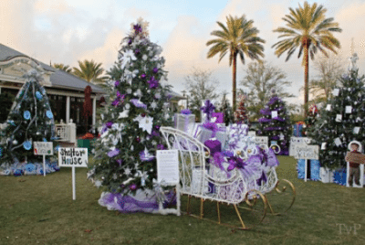 30A South Walton Shelter House tree Festival of Trees 1 e1416856273214 Area Non Profits Compete at Festival of Trees