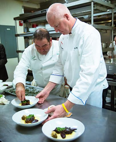 Chef Lagasse with Chef Brian Murray