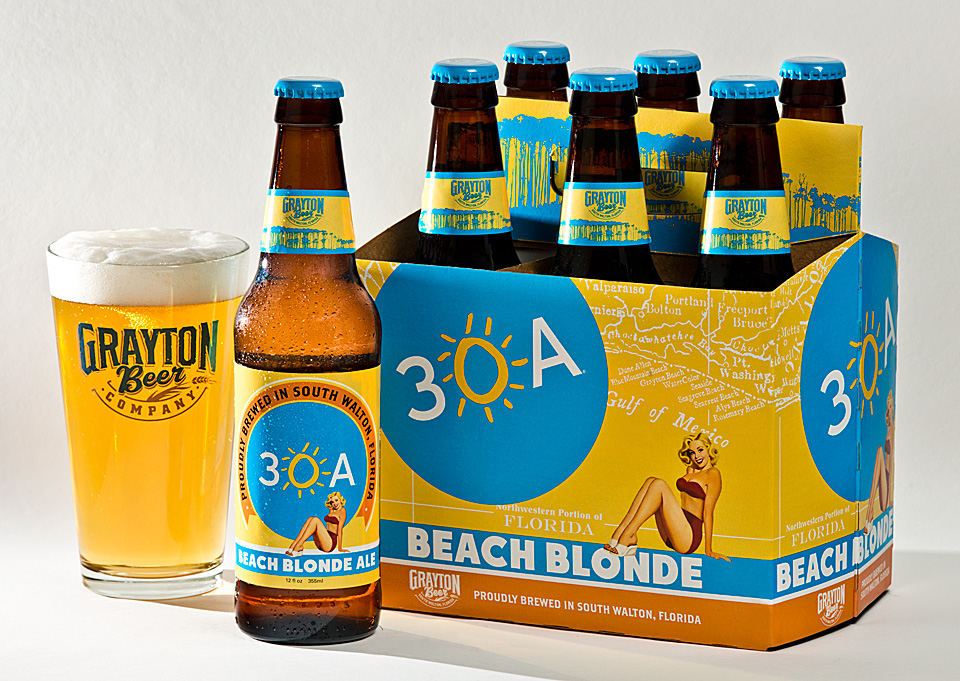 30A South Walton 30A Beach Blonde 960 30A Beach Blonde Ale is Now Available!