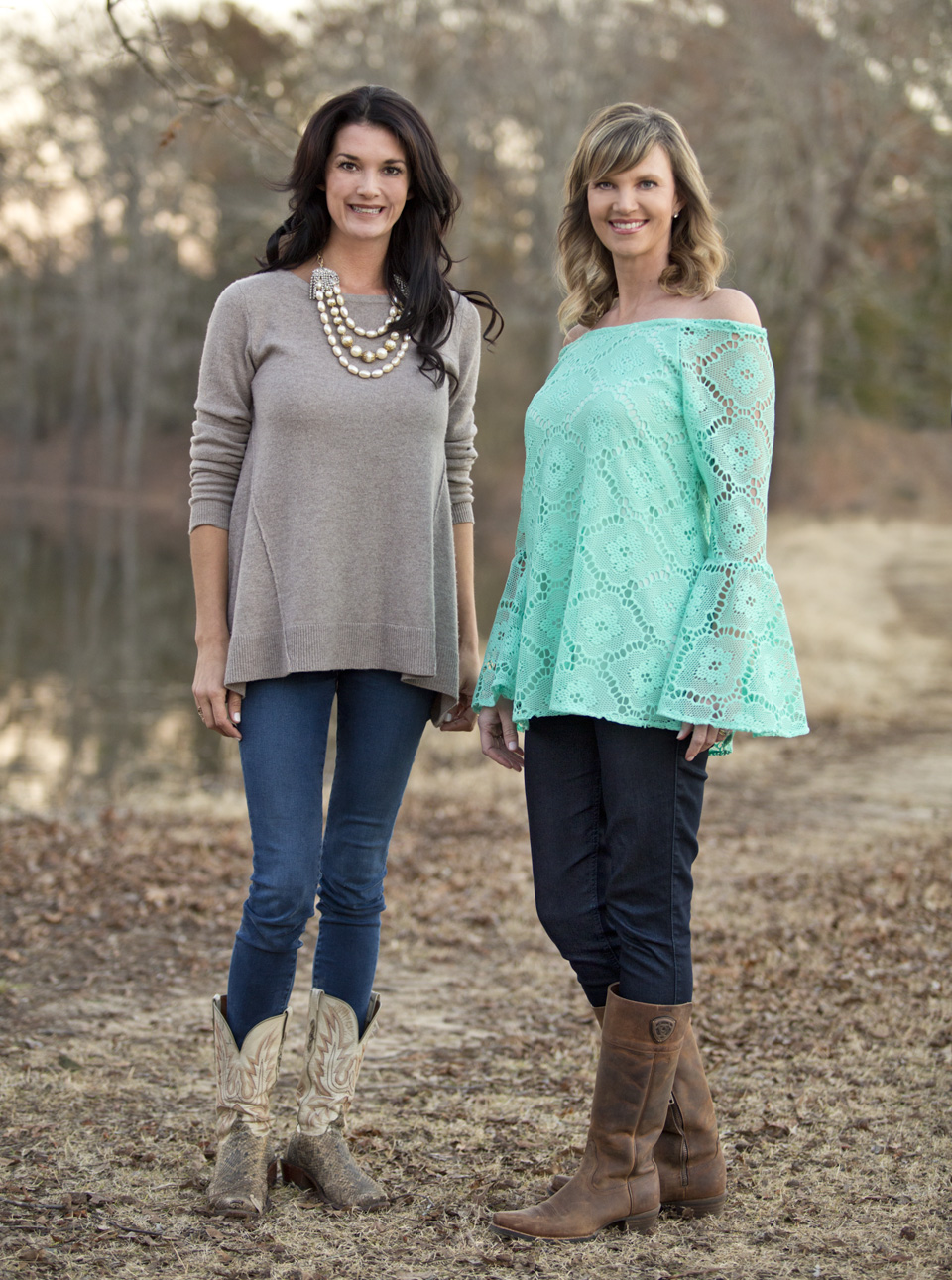 30A South Walton Stephanie and Missy 1 30As Southern Fashion House Debuts Clothing Line with Missy Robertson of A&E's Duck Dynasty