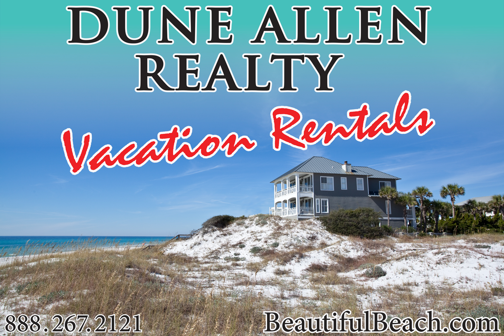 30A South Walton 30Asametime Dune Allen Realty Vacation Rentals is Giving Away a Free 7 day Vacation