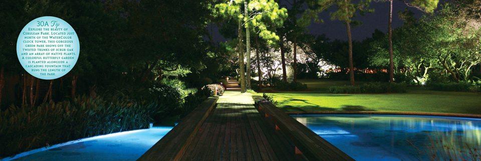 WaterColor's Cerulean Park by Lauren Alsobrook