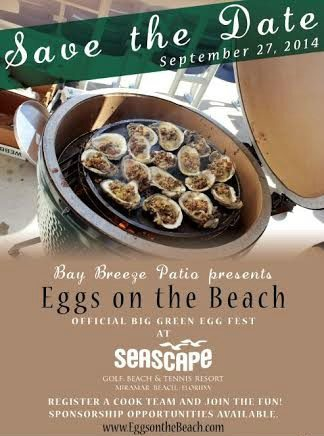 "30A South Walton poster11 Eggs on the Beach"" Competition    Registration Fees Waived off for First 5 Teams"