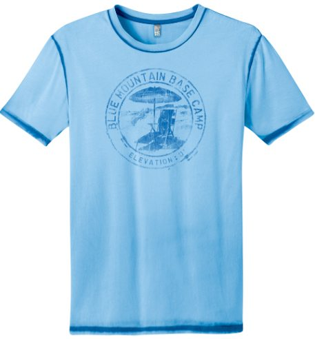 30A South Walton tee shirt 2 NEW: Blue Mountain Base Camp Shirt