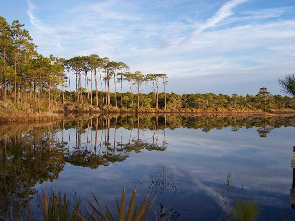 30A South Walton thp lagoon ericbrubakken Get Back to Nature at Topsail Hill Preserve State Park