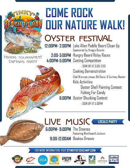 30A South Walton FishingTournament Letter back Flyer Sponsors final 10 1 2014 Stinky's Inaugural Beach to Bay Grand Slam Fishing Tournament Underway