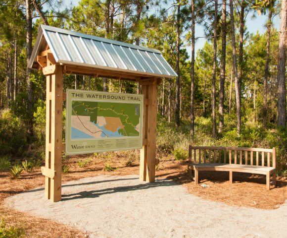 30A South Walton Watersound Trail DSC 0138 Attention Runners, Walkers, Bikers: New Watersound Trail Opens to Public
