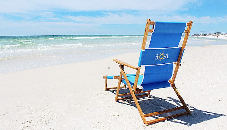 30A South Walton beach chair Last Minute Shopping? Check Out These 30A Inspired Gifts