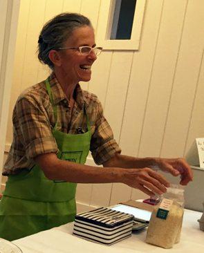 Renee Savary with Twin Oaks Farm