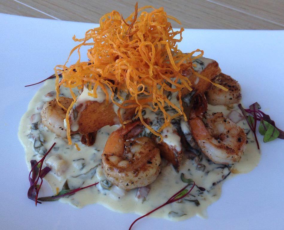 Chef Shirley's signature dish - Grits à Ya Ya