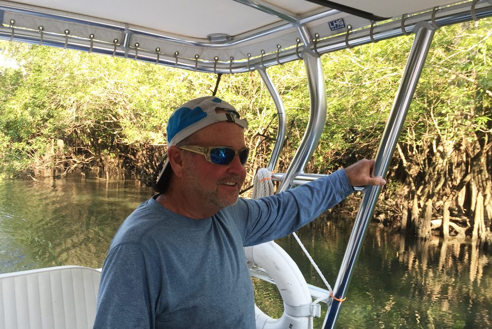 Captain Andy Coleman of Backwater Tours