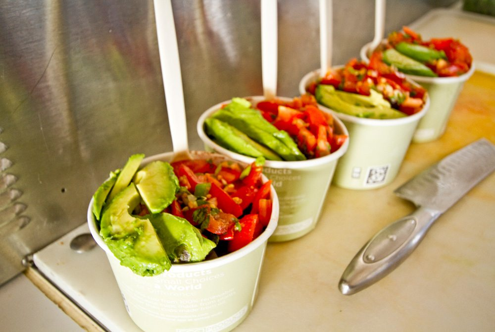 Costa Rican bowls are a popular and delicious lunch option at Raw & Juicy in Seaside.
