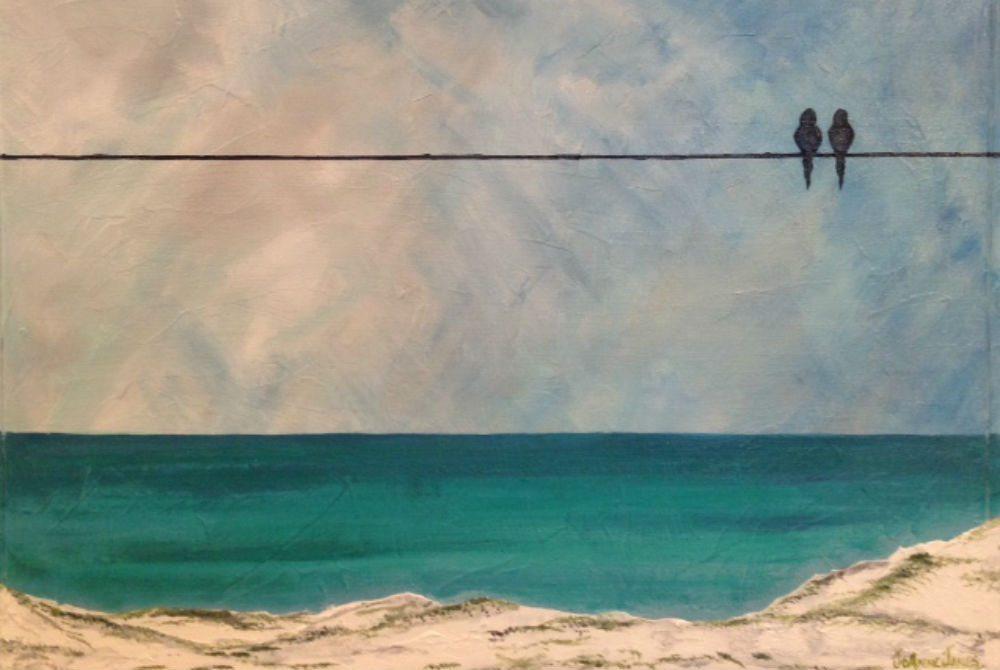 Painting by artist JoAnne Jones