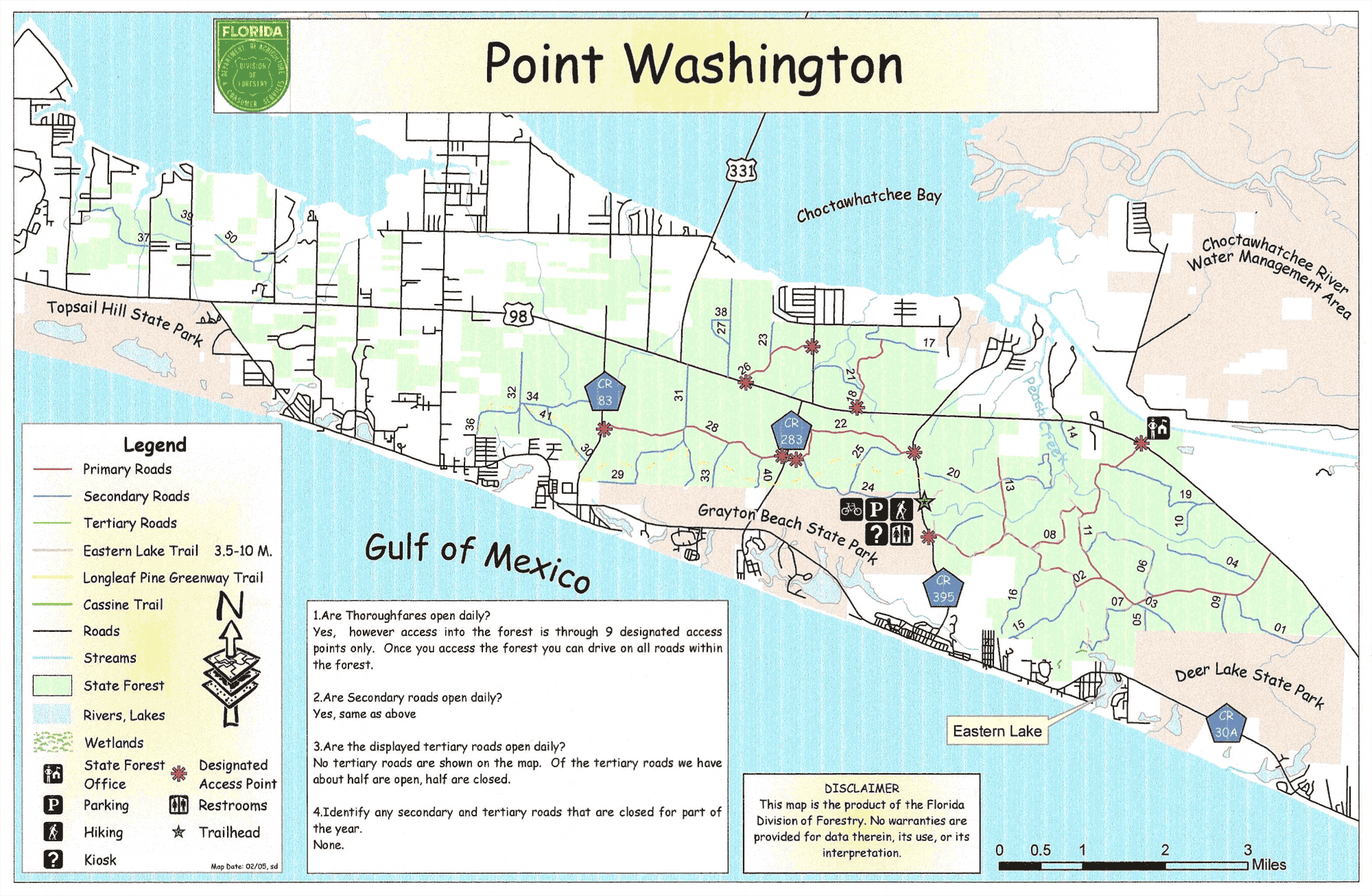 Point-Washington-State-Forest-Map