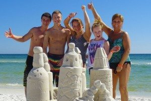 Make Memories in the Sand: Learn to Build a Professional Sand Castle