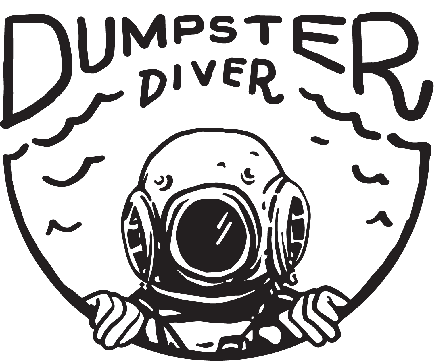 Dumpster Diver Logo
